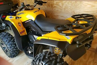 2008 can am renegade 800HO yellow, extras, nice