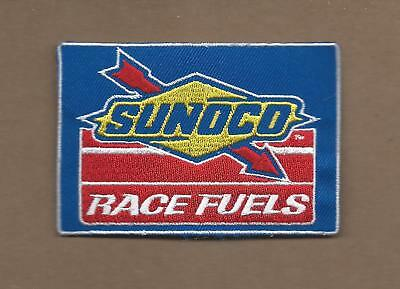 New 2 1/2 X 3 1/2 Inch Sunoco Race Fuels Iron On Patch Free Shipping A