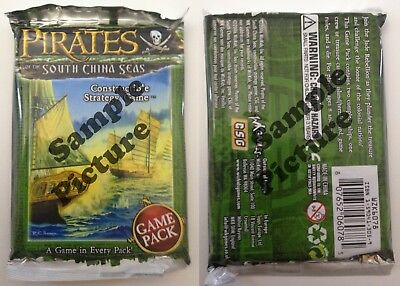 Pirates of the Cursed Seas mixed lot of 19 boosters South China Seas SCS
