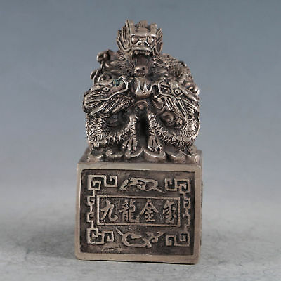 Tibetan Silver Ancient Chinese Imperial Seal  BT0147