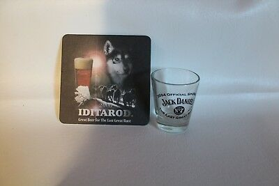 2004/2006/Crown Royal/Alaska/IDITAROD/Collector/glass/shot glass/Jack Daniels