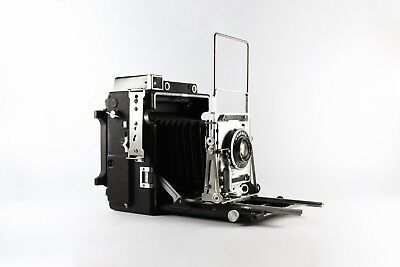 Graflex 4x5 Large Format Crown Graphic 135mm f:4.7 Film Camera