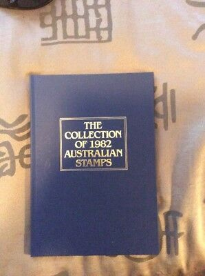 The Collection Of 1982 Australian Stamps