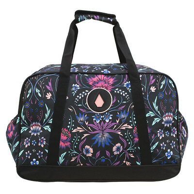 Volcom Patch Attack Overnight Travel Bag in Black