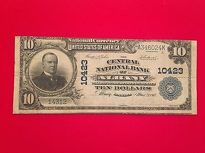 Albany, Alabama National Bank Note. Charter 10423.
