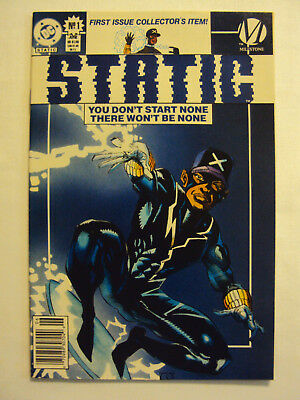 Static No.1 First Issue Collector's Item DC Milestone