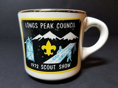 Long's Peak Council 1972 Scout Show Coffee Mug Cup