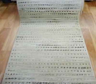 Hall Runner Florence Simple Lines Beige 80cm Wide by the Meter