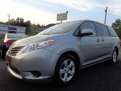 2012 Toyota Sienna LE 2012 Toyota Sienna LE Silver One Owner Low Mileage Very Nice Sport Mini Van
