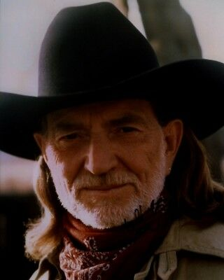 Willie Nelson 8x10 Photo Signed Autographed COA