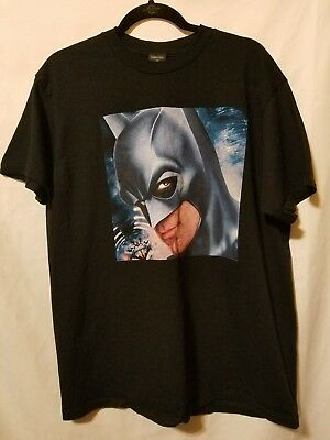 Vintage 1997 Men's Large T-Shirt Batman DC Comics Warner Bros. Studio Store