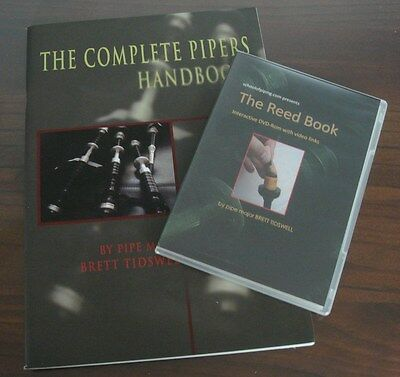 The Complete Pipers Handbook and Reed Book Package