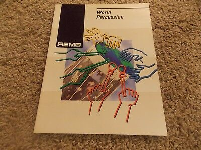Drum/percussion catalog - Remo World Percussion, 1992