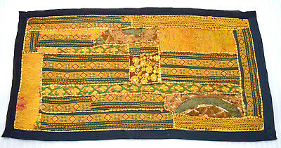 Vintage handcrafted luxurious style Banjara work wall hanging decorative. i17-65