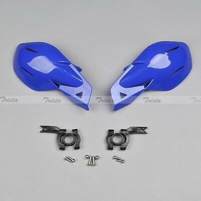 "Blue Motorcycle MX Motocross Bike ATV 7/8"" Handlebar Hand Guards Handguards J02"