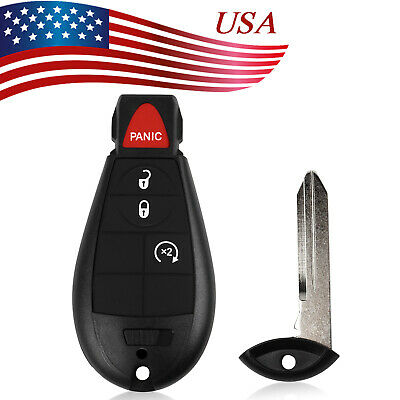 NEW KEYLESS ENTRY Key Fob Remote CASE ONLY 4 BUTTON For a 2010 Dodge