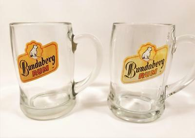 TWO BUNDABERG RUM TANKARDS c1990's ONE WITH COLOURCORP LABEL