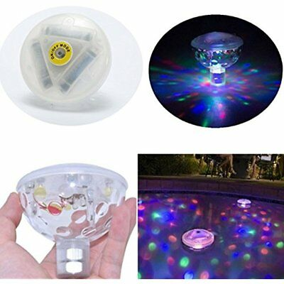Floating Underwater Led Disco Light Glow Show Swimming Pool Hot Tub Spa GIFT