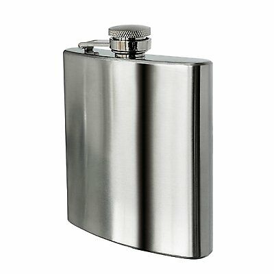 8 oz Stainless Steel Hip Flask I5Q5 D0Q5