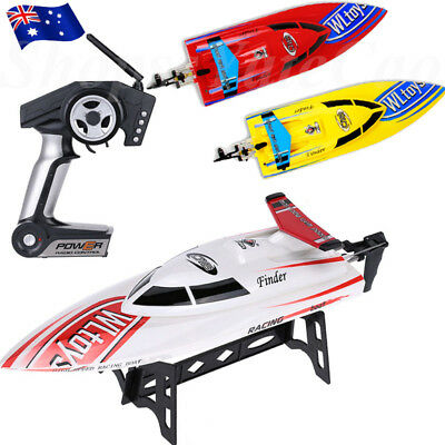 4CH 2.4G Wireless Kids RC Radio Remote Control High Speed Boat Ship Electric Toy