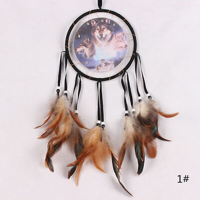 Handmade Dream Catcher with feather wall or car hanging decoration ornament