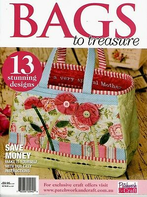 Bags To Treasure  Magazine.  Pattern Sheet Attached