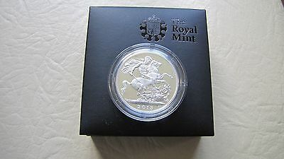 2013 UK Royal Birth £5 St. George & the Dragon Pistrucci's Silver Proof coin