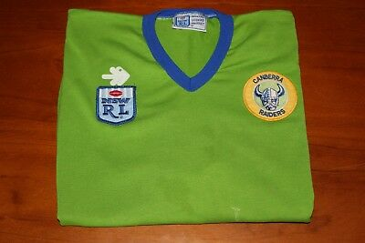 Canberra Raiders Rugby League Jersey, Size 12