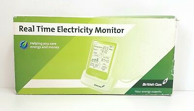 BRITISH GAS Real Time Energy Electricity Electric Monitor Boxed