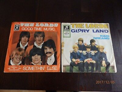 2x Single-The Lords-Glory Land / Good Time Music