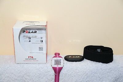 Polar FT4 Pink Heart Rate Monitor HRM Watch - Unused