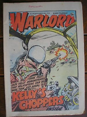 Warlord Comic issues 261/262/263