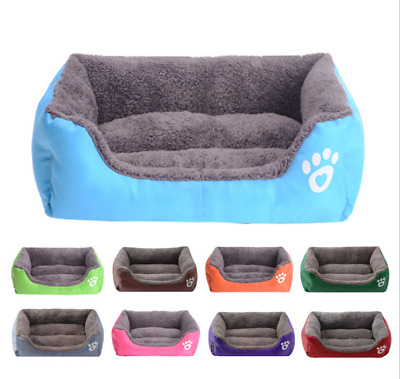 Soft Warm Dog Bed Kennel Small Medium Large Cat Pet Puppy Bed House