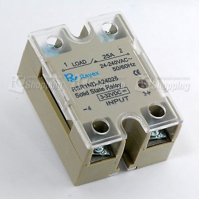1pc SSR Relay Solid State Relay (UL) DC4~32V-25A 240V