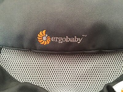 Ergobaby 360 Cool Air Mesh Baby Carrier Sling Carbon Grey