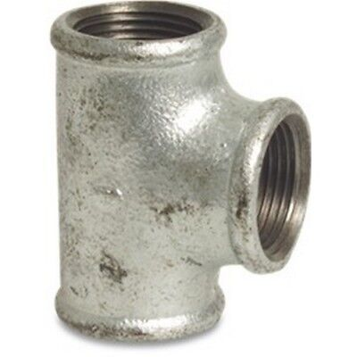 Galvanised Malleable Iron Pipe Fitting Equal Tee