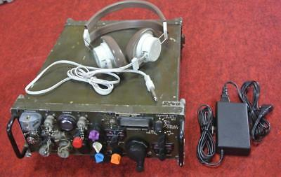 WJ WATKINS-JOHNSON 20~250M VHF receiver with full set headphone included