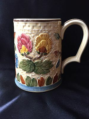 Hand painted Indian Tree by H.J Wood Staffordshire Mug