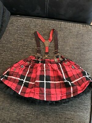Baby Girls Next Skirt With Braces 12-18 Months