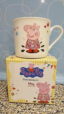 Peppa Pig Mug by Portmeirion - A Perfect Boxed Gift  NOW REDUCED £8.79