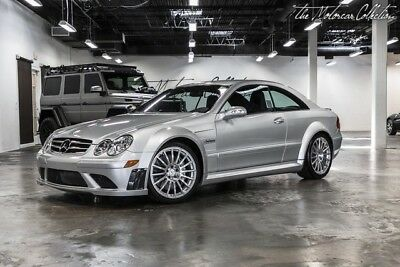 2008 Mercedes-Benz CLK-Class CLK63 AMG Black Series THE LOWEST MILEAGE CLK63 BLACK SERIES IN EXISTENCE! ONLY 600 MILES! CLEAN CARFAX