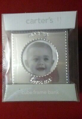 New-In-Box Sealed Carter's Cube Frame Bank