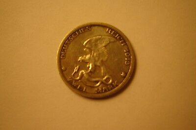 1913 German 2 Mark silver coin 100 year Anniversary Victory over Napoleon