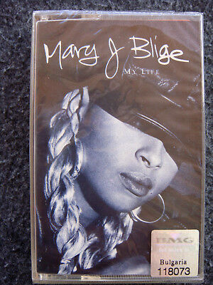 MARY J  BLIGE - My Life - AUDIO CASSETTE TAPE, New, Sealed, Rare, Out of  Print