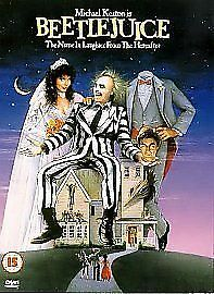 BEETLEJUICE / BEATLEJUICE - Michael Keaton DVD NEW