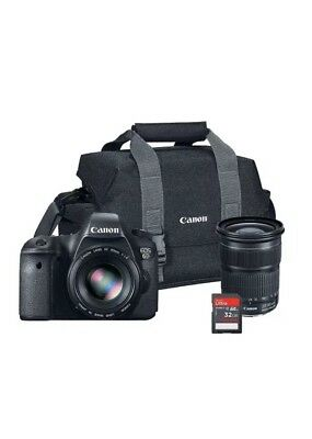 Canon EOS 6D 20.2 MP Full-Frame CMOS Digital SLR Camera Bundle with EF 24-105mm