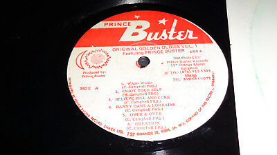 Prince Buster Record Shack Presents - The Original Golden Oldies Vol. 1- LP