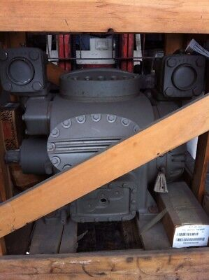 NOS Carrier/Carlyle 5H60 Compressor with matching 50Hp TEFC electric motor