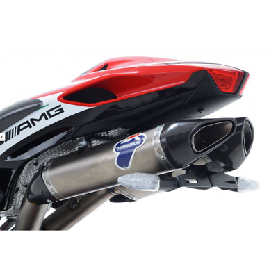 Support de plaque r& racing noir mv agusta f4 ... - R&g racing 442820 (LP0189BK)