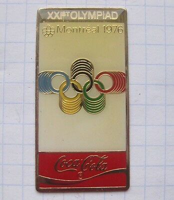 COCA-COLA /  OLYMPISCHE SOMMER SPIELE / MONTREAL 1976   .... Sport Pin (127h)